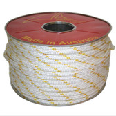 Polyester Double Braid Yacht Rope - Flecked - 12mm (100m reel)