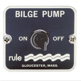 Bilge Pump Control Panel - On / Off Control Switch