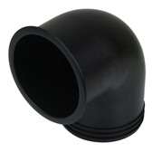90 degree nylon elbow for stainless steel hose vents