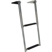Stainless Steel Step Telescopic Ladder