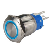 Stainless Steel Switch with LED