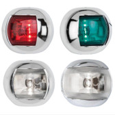 LED Orsa Navigation Lights - Chrome