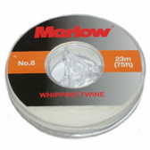 Marlow Whipping Twine No 8 White (reel)