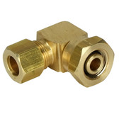 "Hydraulic Hose Fitting - 3/8"" Female - 3/8"" Male Elbow"