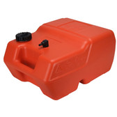 Economical and robust polyethylene portable fuel tank