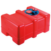 Polyethylene fuel tanks