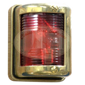 Brass Navigation Light - Port
