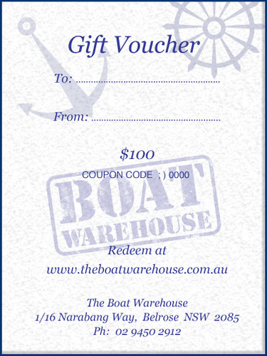 Gift Certificates - Boat Accessories