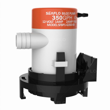 Seaflo Seaflo Bilge Pump - Non-Automatic, 08 Series 12V - 350GPH