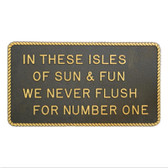RWB Marine Plaque - In These Isles