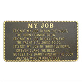 RWB Marine Plaque - My Job