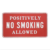 RWB Marine Plaque - No Smoking