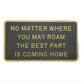 RWB Marine Plaque - Best Part Is Coming Home