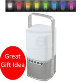 LED Camp Light & Bluetooth Speaker