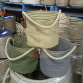Canvas Buckets - Assorted Colours