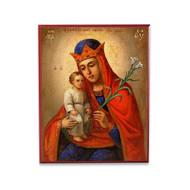 """Theotokos """"Unfading Flower"""" Icon - T150"""
