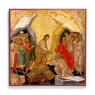 Harrowing of Hades (XVIc) Resurrection Icon - F128