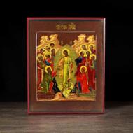 Harrowing of Hades (XVIIIc) Resurrection Icon - F269