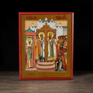 Exaltation of the Cross (Old Believer) Icon - F135