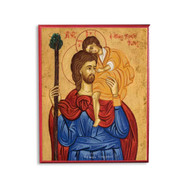 Saint Christopher of Lycia Cathedral Icon - S270