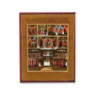 Days of the Week (XVIIIc) Cathedral Icon - F266