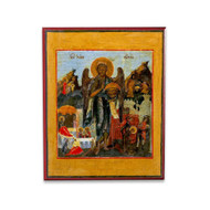 Saint John the Baptist with Scenes (XIXc) Cathedral Icon - S369