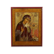 Lamentations of the Theotokos (XVIIIc) Cathedral Icon - T154