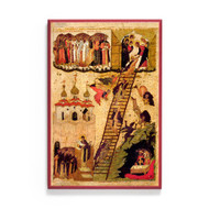 Ladder of Divine Ascent (XVIc) Icon - F149
