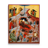 Nativity of Christ (XVc) Icon - F160