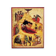 Nativity of Christ (XVc) Icon - F161