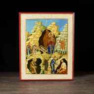 Nativity of Christ Icon - F163