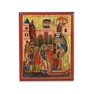 Entrance of the Theotokos into the Temple (XVIIc) Icon - F171