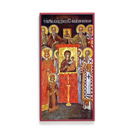 Restoration of the Holy Icons (Athos) Icon - F296