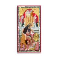 Saint Isaac the Syrian (Illumination) Icon - S407