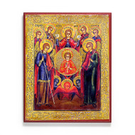 Synaxis of the Archangels (XIXc) Icon - F178