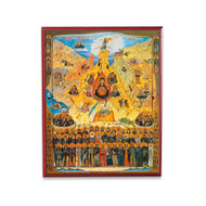 All Saints of Sinai Icon - F179