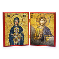 Christ and Theotokos (Hagia Sophia) Diptych