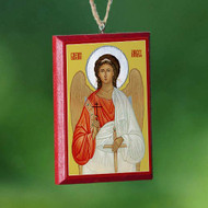 Christ / Guardian Angel Mirror Icon