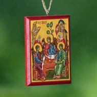 Christ / Holy Trinity Mirror Icon