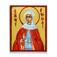 Saint Emilia of Caesarea Icon - S436