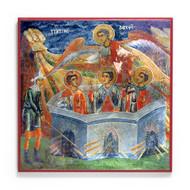Three Holy Youths (Slivnichki) Icon - F313