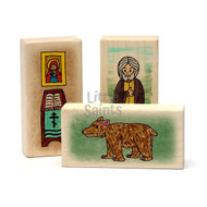 Little Saints St. Seraphim of Sarov Playset