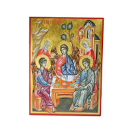 Hospitality of Abraham (Holy Trinity) Hand-Painted Icon