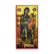 Theotokos Enthroned (XIIIc) Icon - T181