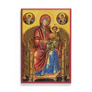 Theotokos Enthroned (XIIIc) Icon - T182