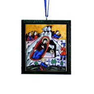 2018 Nativity Tree Ornament - A