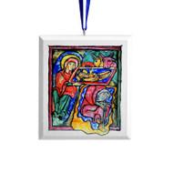 2018 Nativity Tree Ornament - B
