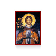 Saint Euphrosynos the Cook Icon Magnet