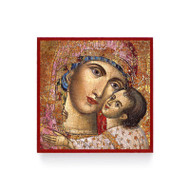 Heart of the Theotokos Icon Magnet