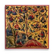 Tree of Jesse (Sinai) Icon - F319